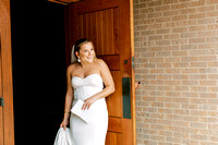 First Look and Newlywed Portraits